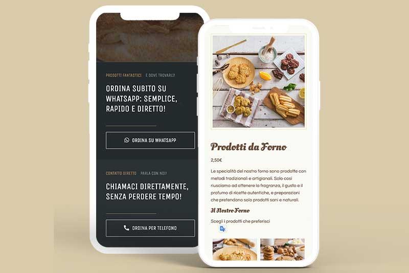 siti web per ristorazione responsivi digitaltusk food brush