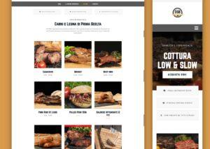 OSB american barbecue ecommerce food store digitaltusk portfolio