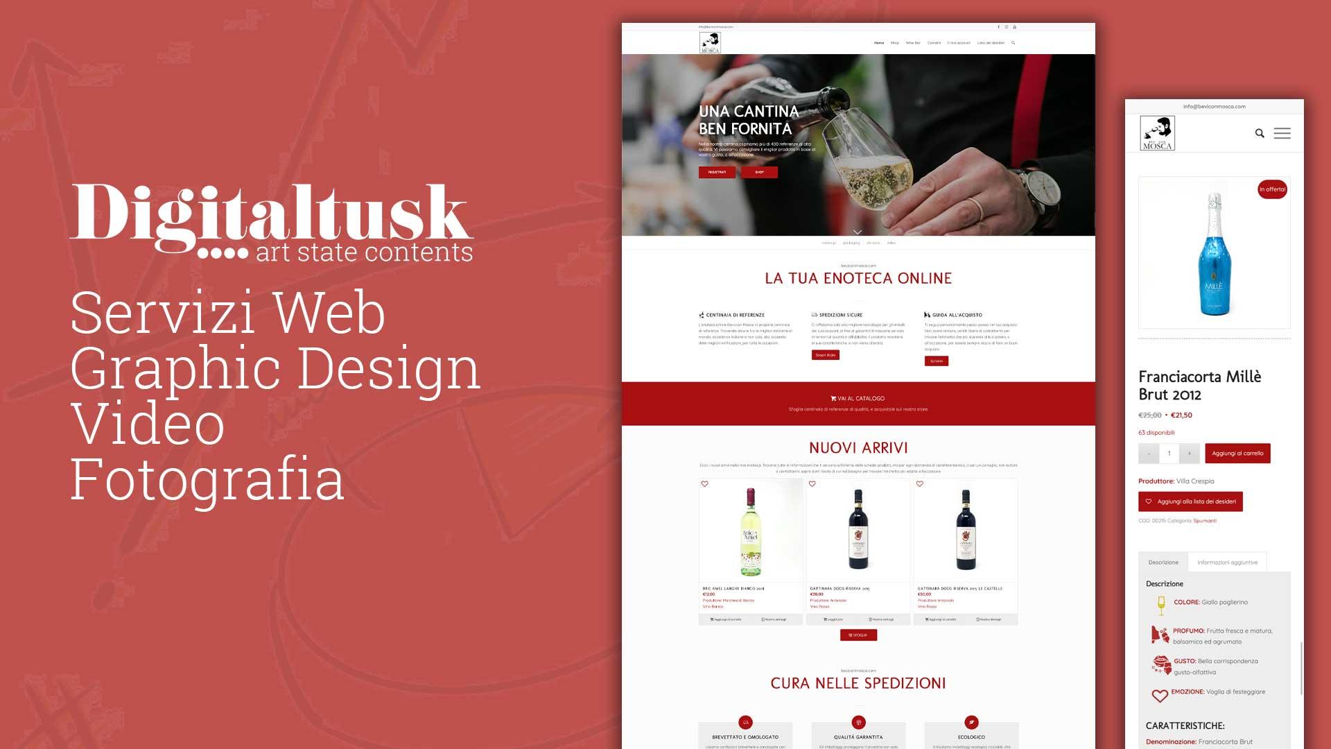 enoteca online bevi con mosca ecommerce digitaltusk