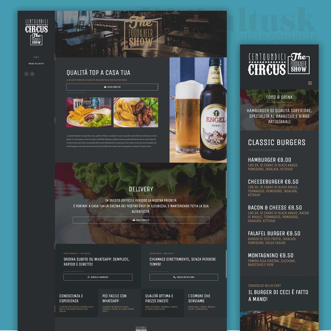 pub ristorante centoundici circus castellanza sito web